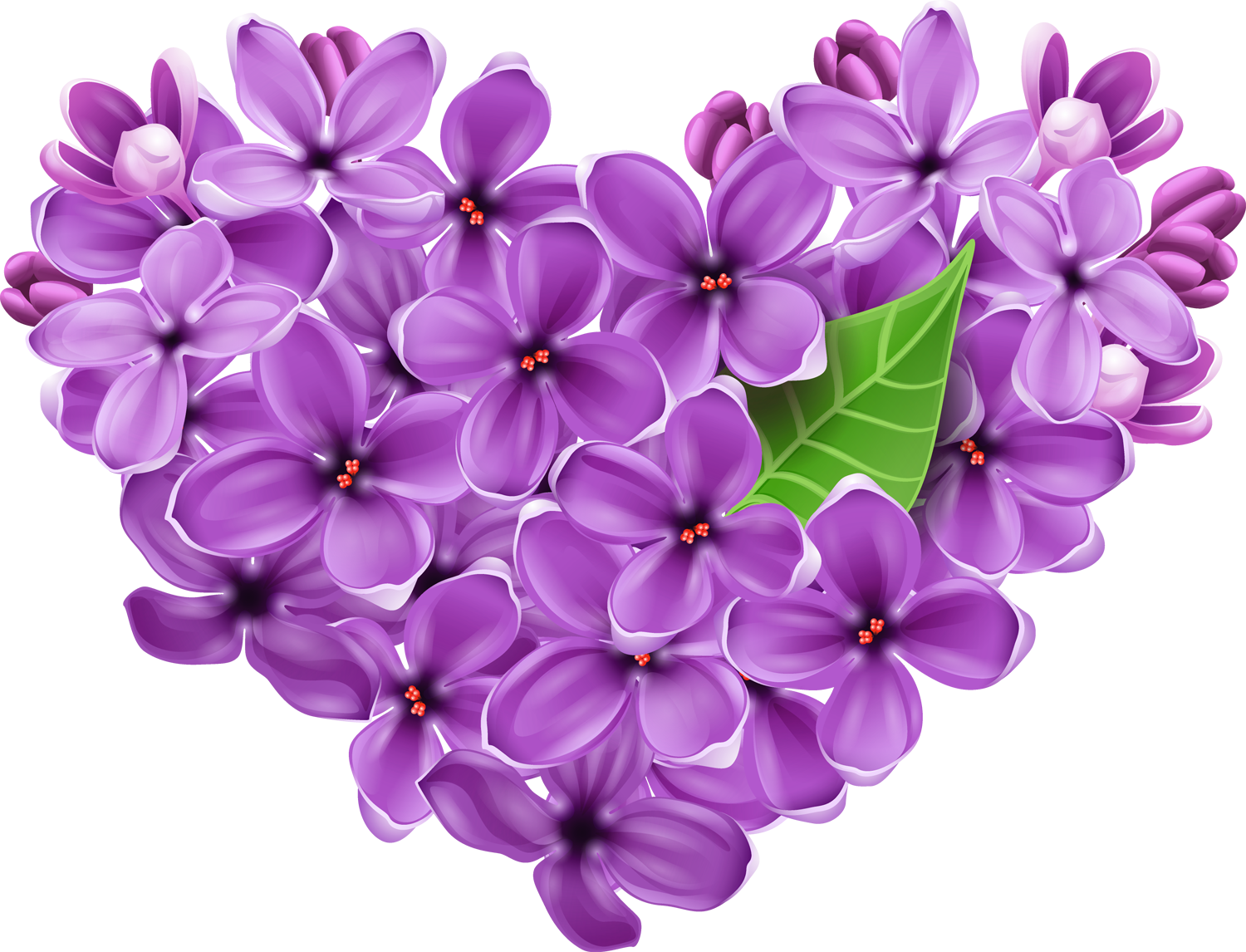 Lilac tree clipart free stock Purple Lilac Heart PNG Pictur | Tavasz/Spring | Pinterest | Purple ... free stock