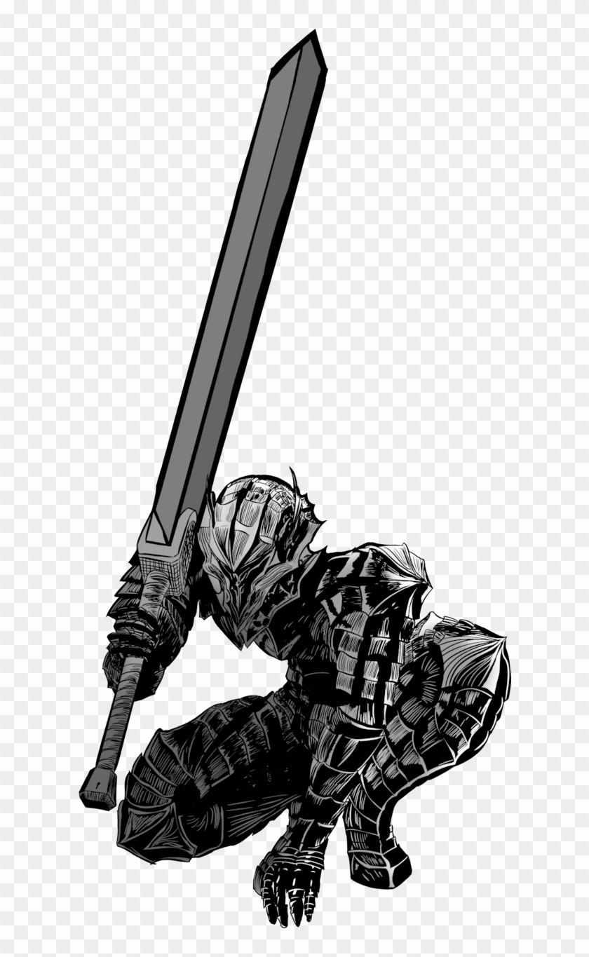 Berserker clipart free stock Guts Without Cape By Clipart Free Stock - Berserk Manga, HD Png ... free stock