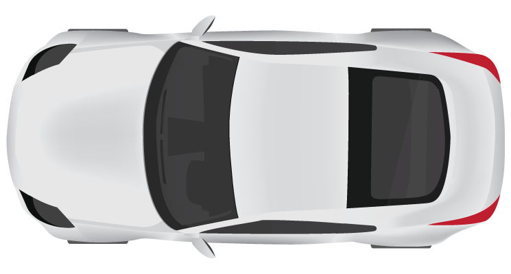 Top view of clipart car image free download Cartoon Car Top View ClipArt Best - Car top view | Entourage | Car ... image free download