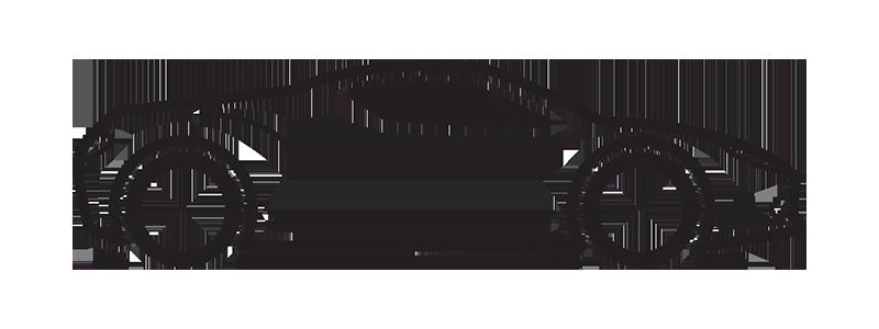 Sports car logo clipart