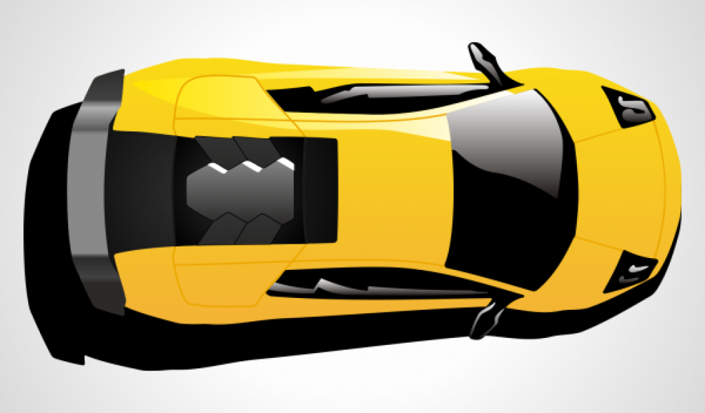 Yellow car top view clipart banner transparent stock Best Car Clipart Top View #28649 - Clipartion.com banner transparent stock