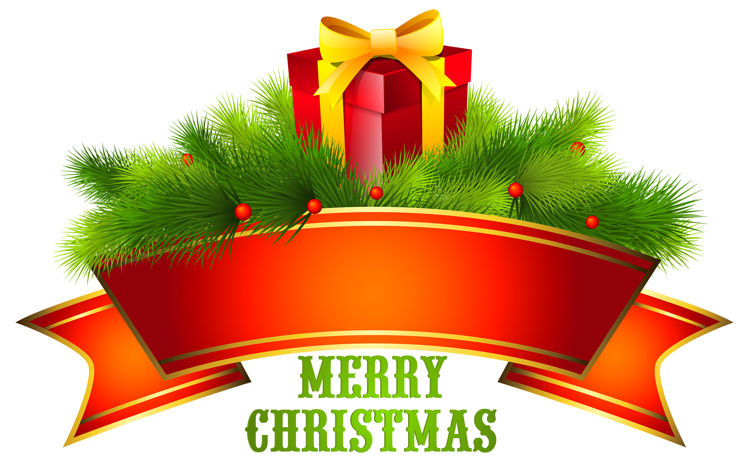 Best clipart text vector transparent library Merry Christmas Text Decor PNG Clipart - Best WEB Clipart vector transparent library