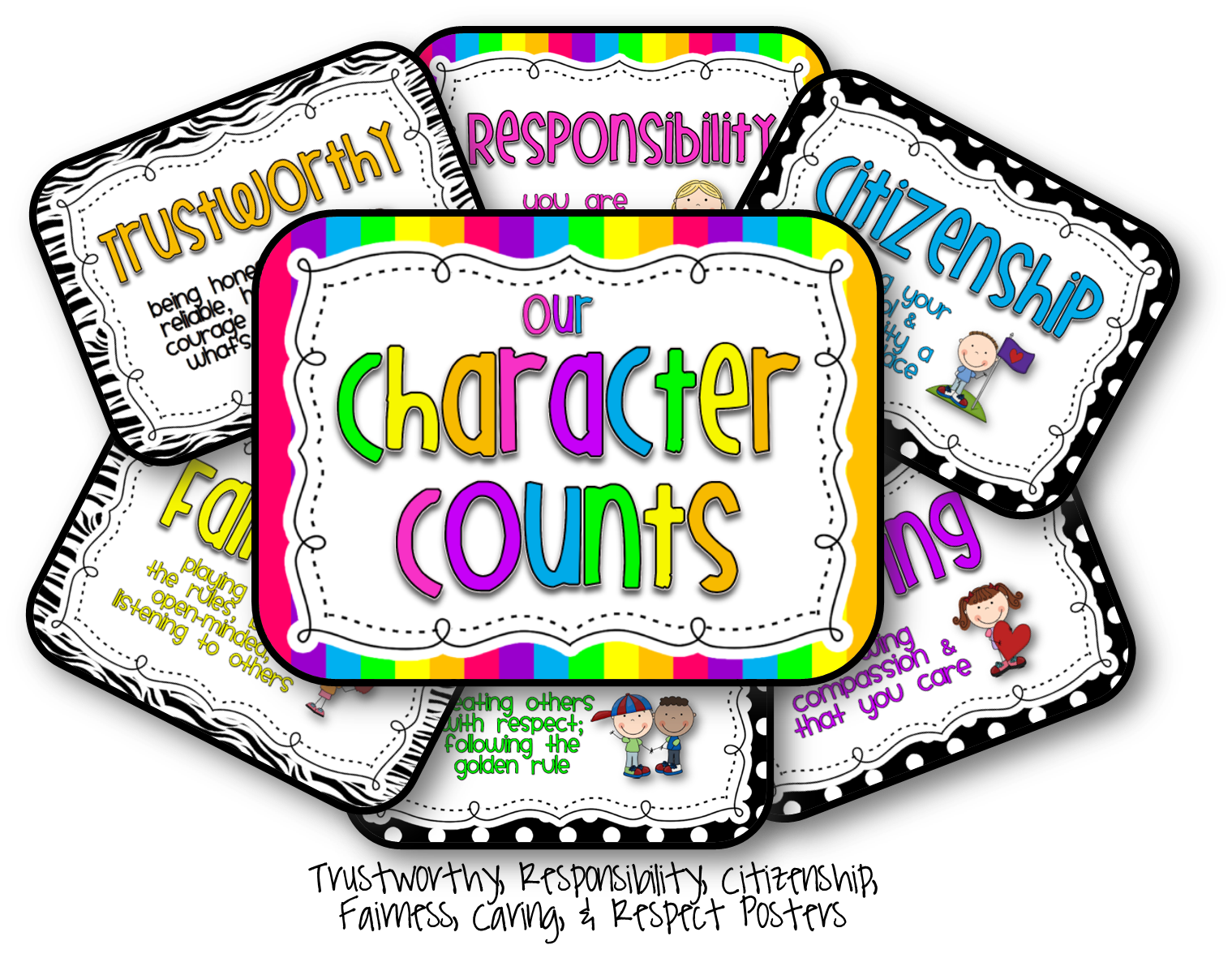 Main character traits clipart picture freeuse stock Character Clipart - Clipart Kid picture freeuse stock