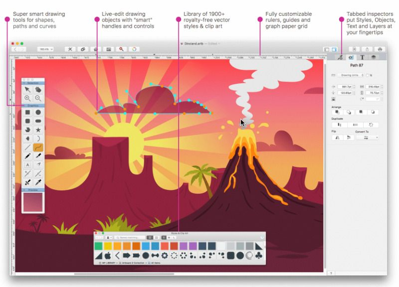 Best free desktop app for word and clipart black and white stock 6 Simple Drawing Applications for Mac - Make Tech Easier black and white stock