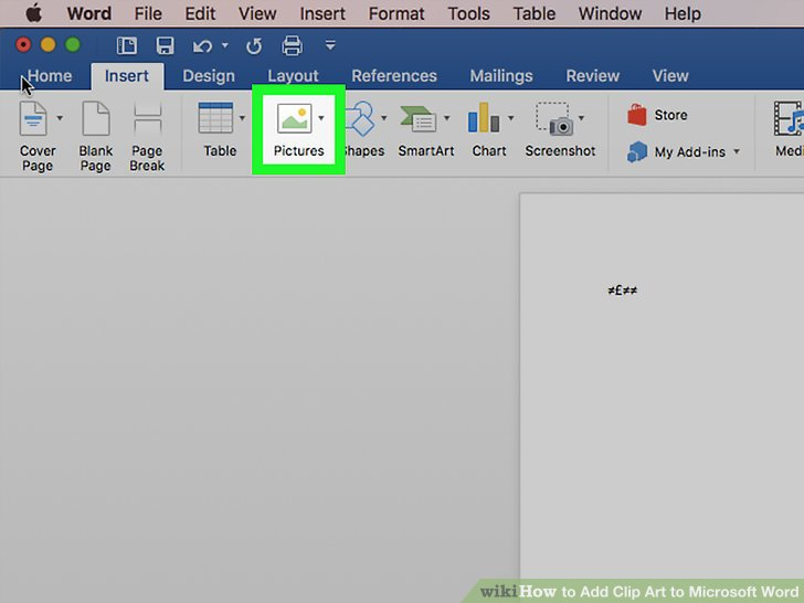 Best free desktop app for word and clipart clipart black and white stock 4 Easy Ways to Add Clip Art to Microsoft Word - wikiHow clipart black and white stock