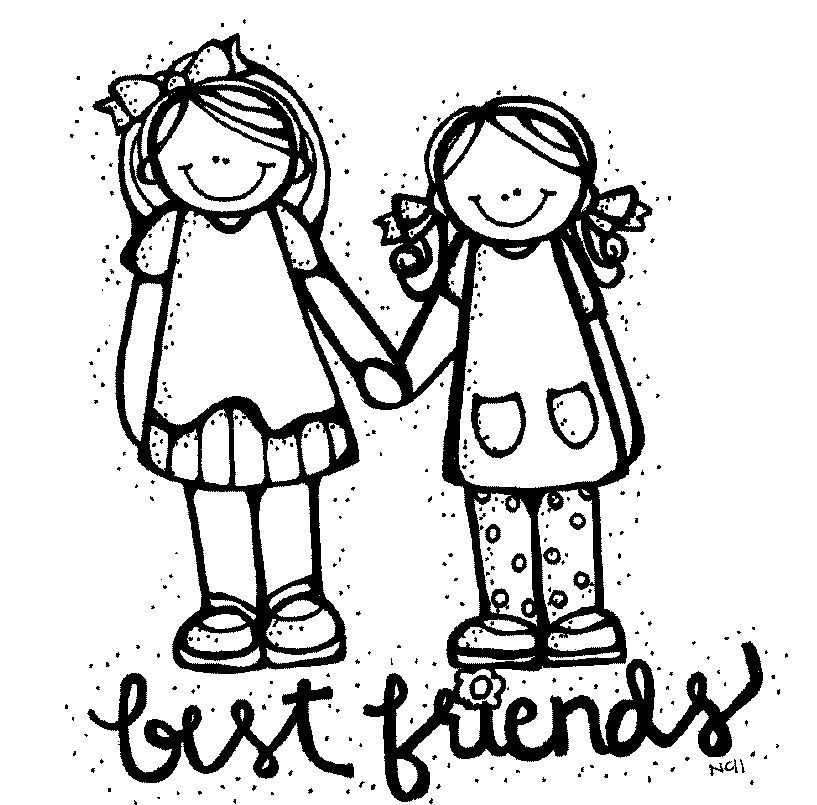 Best friend clipart black and white clip art black and white download Best friend clipart black and white 5 » Clipart Portal clip art black and white download