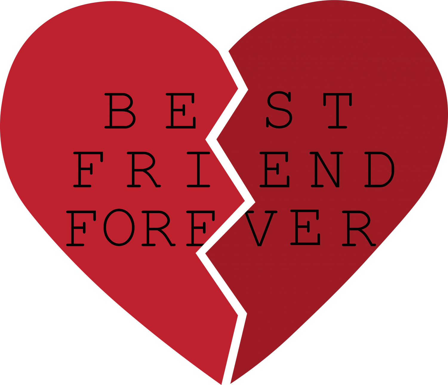 Best friend heart clipart svg royalty free stock Breaking Cupid's (platonic) arrow – The DePaulia svg royalty free stock