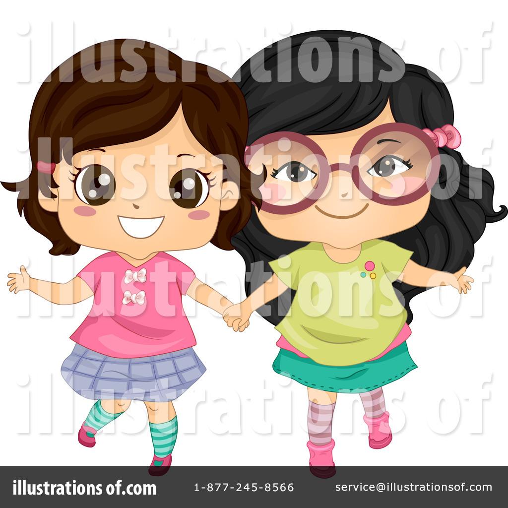 Best friends clipart royalty free clip free Best Friends Clipart #1112429 - Illustration by BNP Design Studio clip free