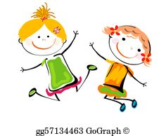Best friends clipart royalty free vector stock Best Friends Clip Art - Royalty Free - GoGraph vector stock