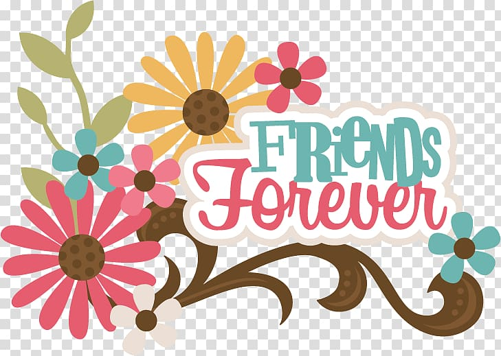 Best friends forever images clipart clip library download Yellow and pink daisy flowers friends forever illuystration, Best ... clip library download