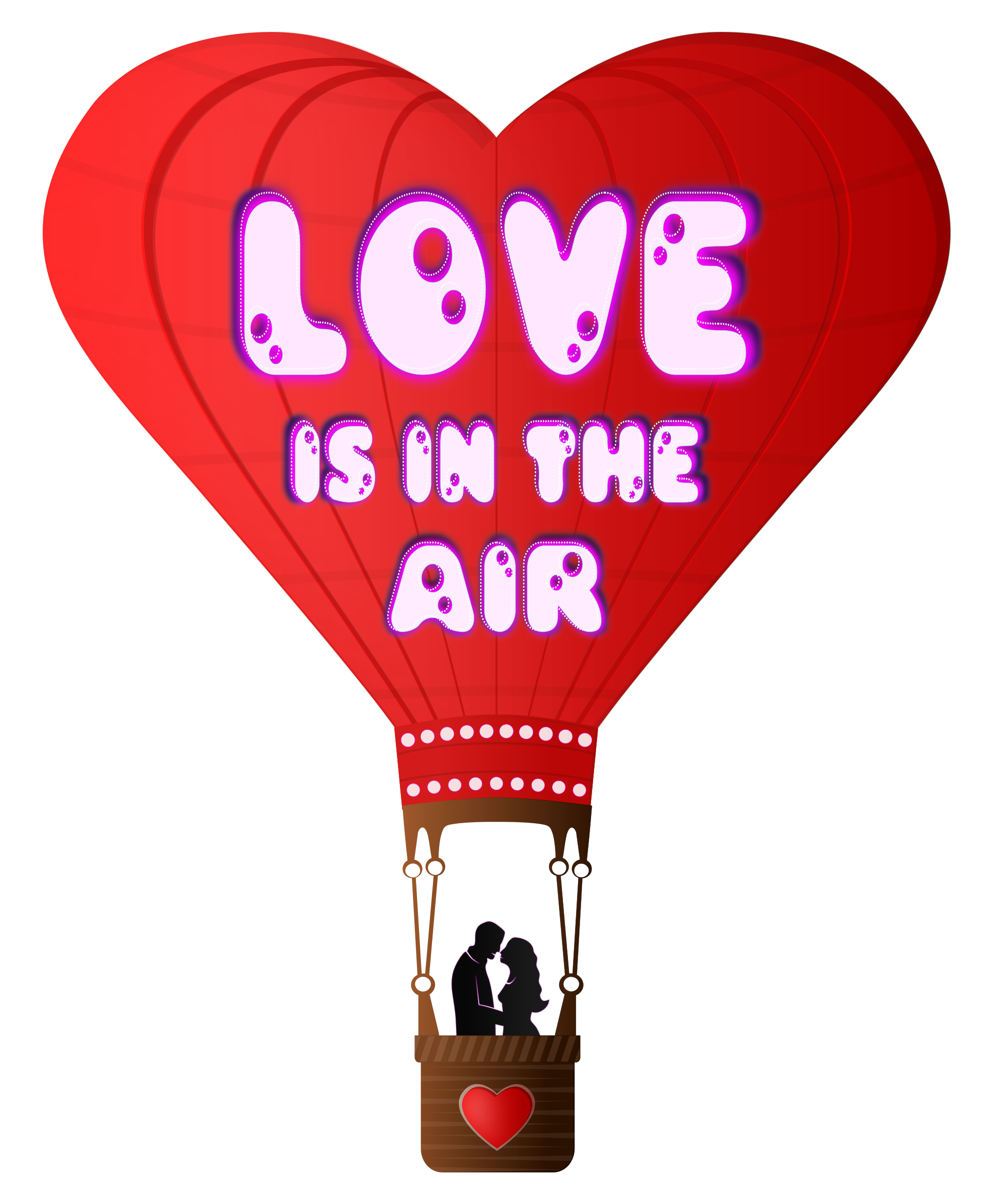 Best friends heart clipart image transparent Clipart - Valentines Day Love Is In The Air image transparent