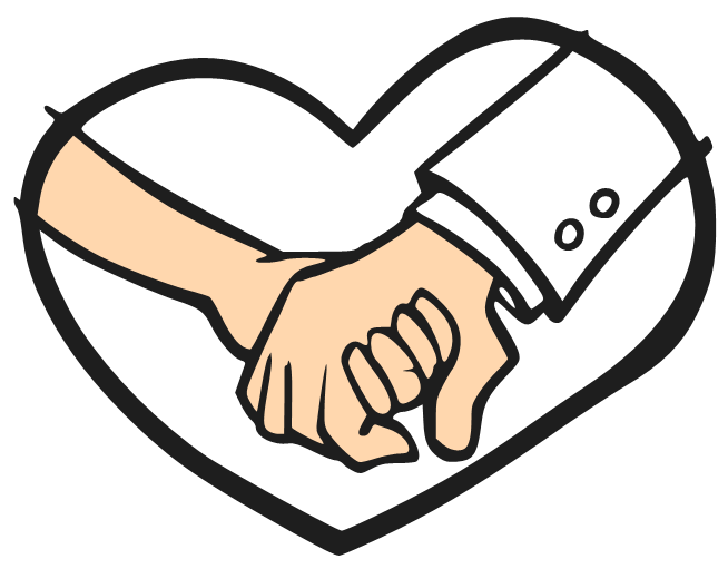 Best friends holding hands clipart png library stock Holding Hands Drawing Step By Step | Free download best Holding ... png library stock