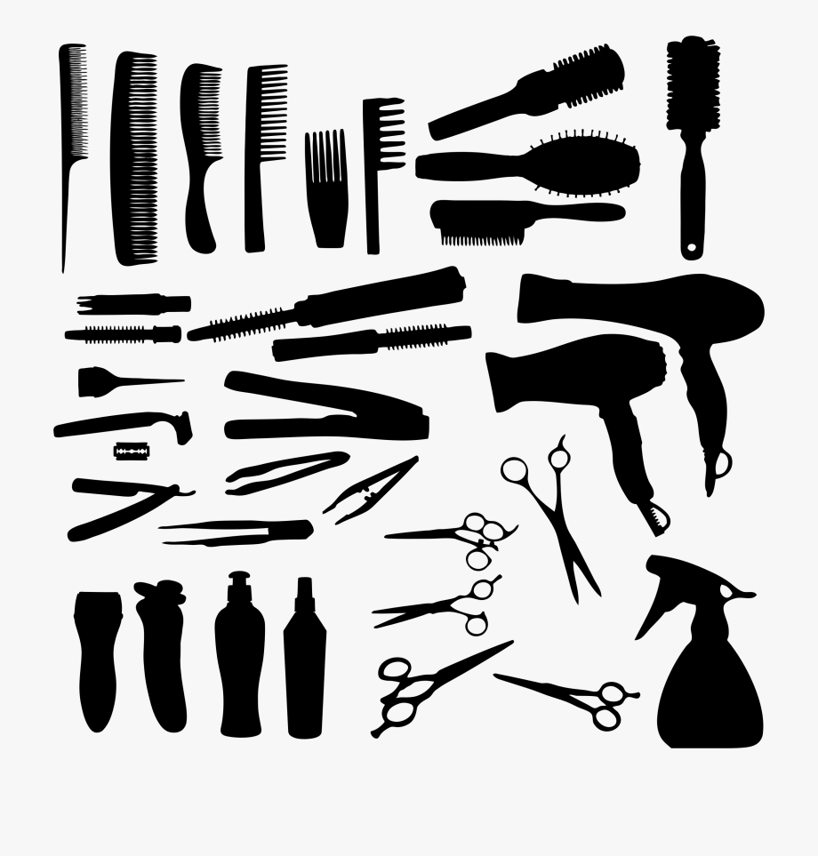 Best hair styling clipart clip library stock Salon Tools Clipart - Hair Styling Tools Clip Art #367061 - Free ... clip library stock