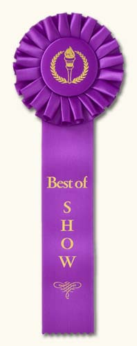 Best of show award clipart clip transparent Traditional Award Ribbon Design Ideas: Classic Award Ribbons clip transparent