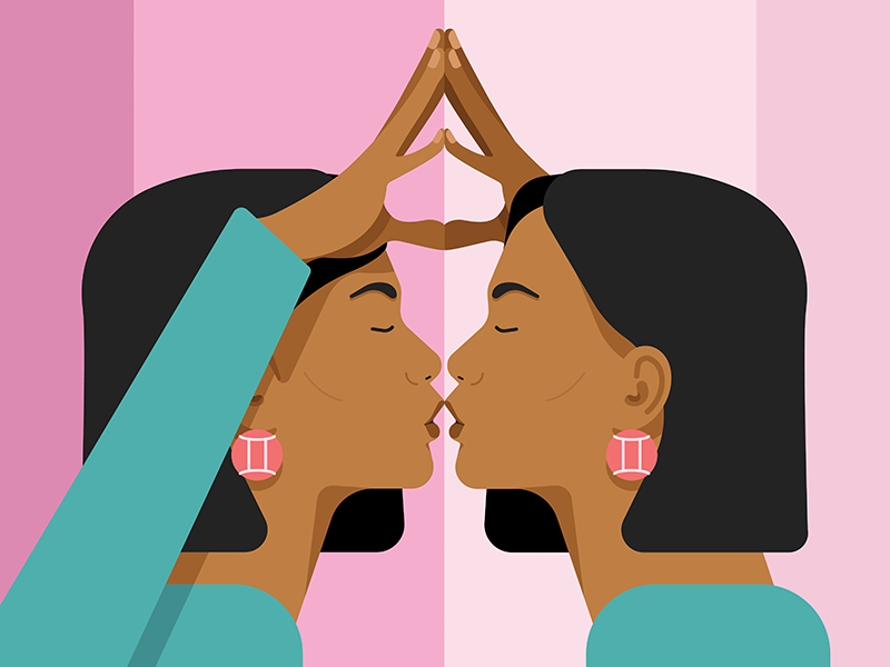Best traits of gemini clipart jpg freeuse Gemini Zodiac Sign: What Your Sign Says About Love & More | Chatelaine jpg freeuse