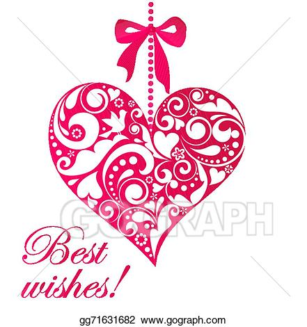 Best wishes pictures clipart banner transparent download Vector Art - Best wishes. EPS clipart gg71631682 - GoGraph banner transparent download