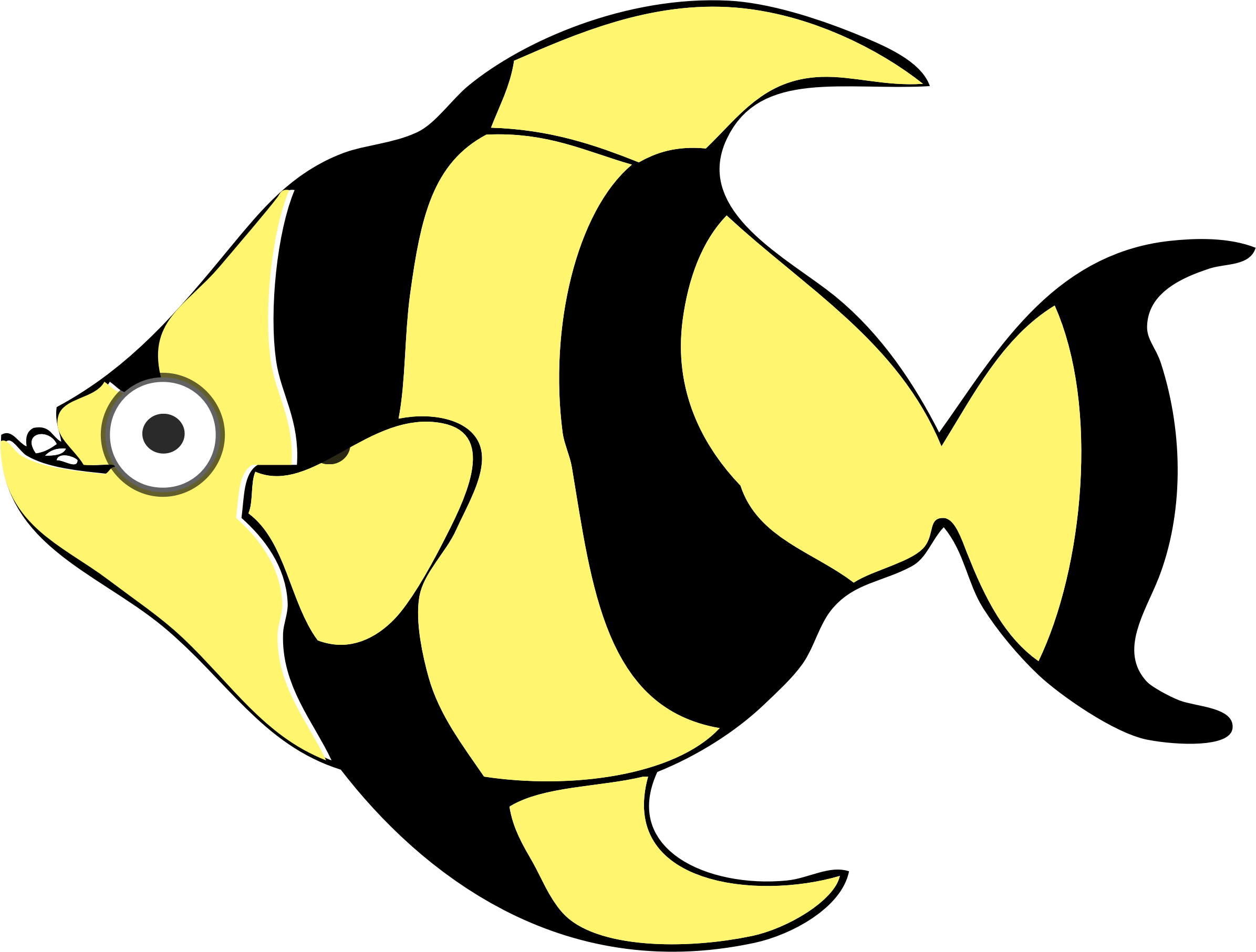 School of fish graduation clipart image library library Tropical Fish Cartoons Group (80+) image library library