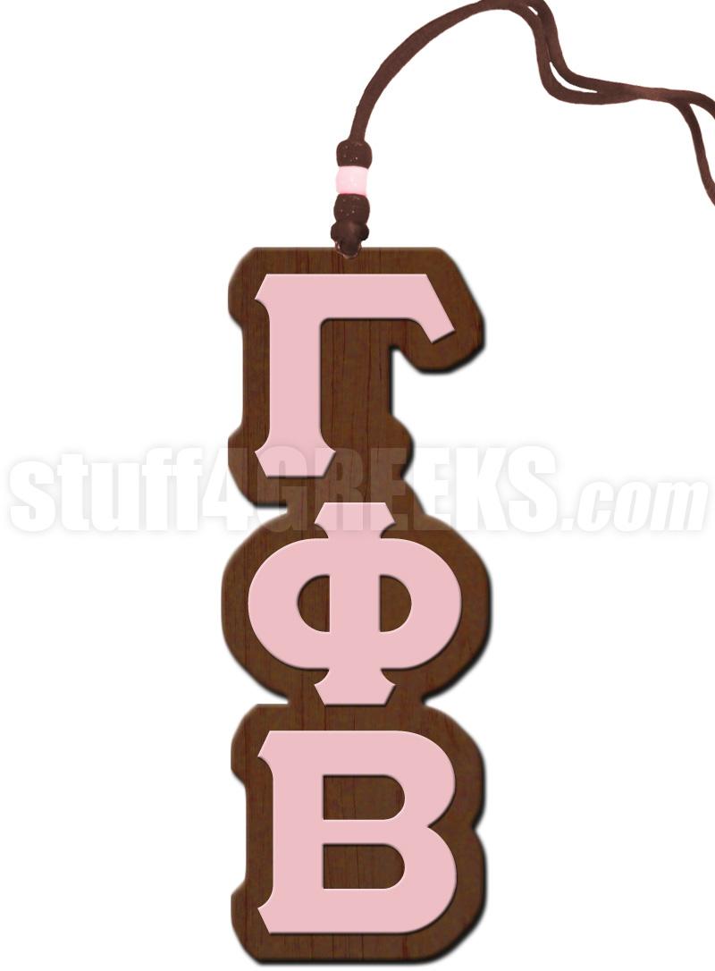 Beta greek letter clipart clip art library Gamma Phi Beta Greek Letter Tiki Necklace clip art library