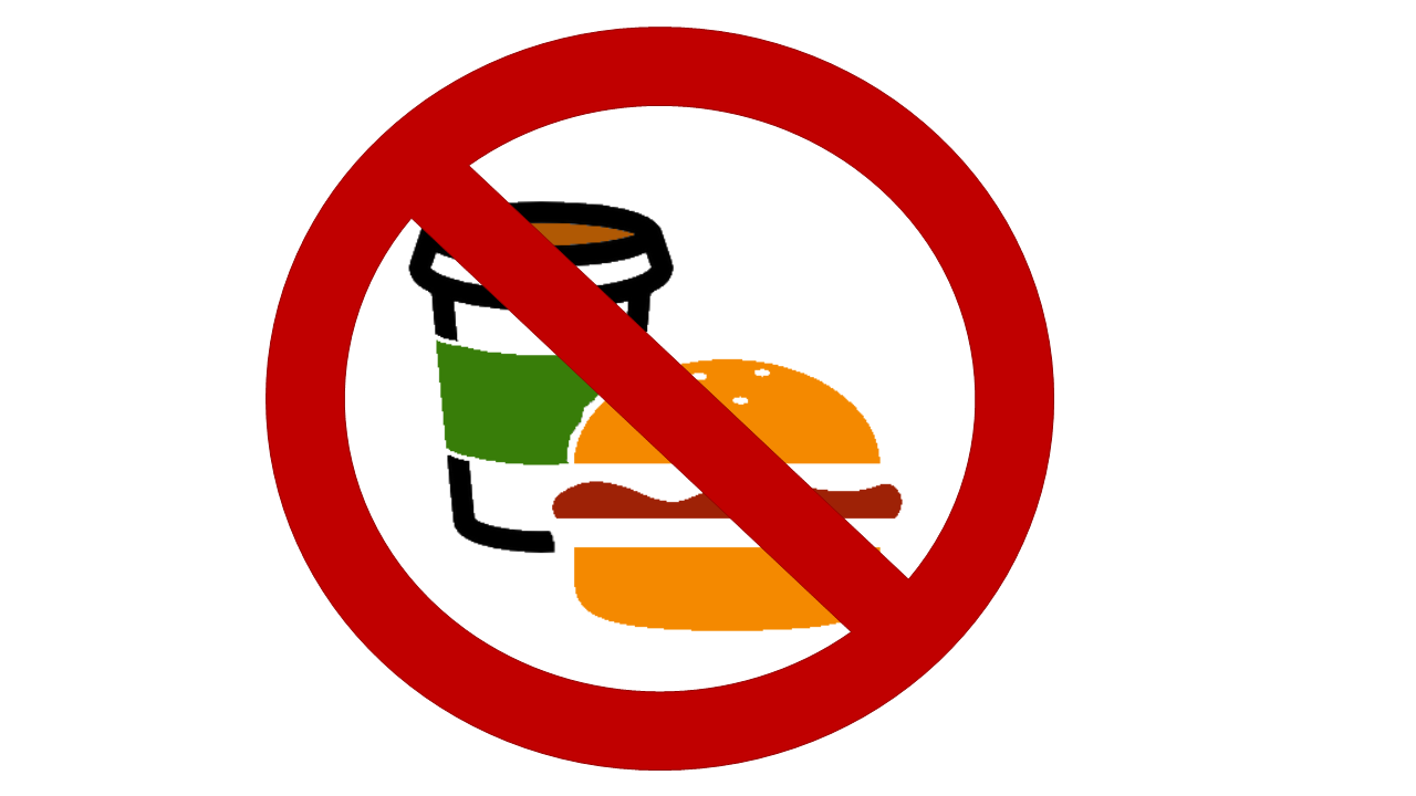 drink clipart clip eating allowed sign library icon kfc fast transparent drinks bethel hamburger park cartoon area chicken writing computer