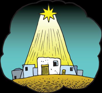 Bethleem clipart clip art royalty free download Image: Star of Bethlehem Image | Christart.com clip art royalty free download