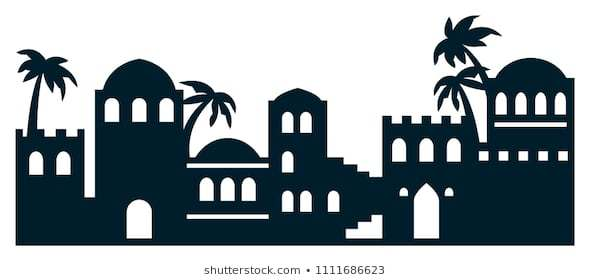 Bethleem clipart black and white download Town of bethlehem clipart 5 » Clipart Portal black and white download