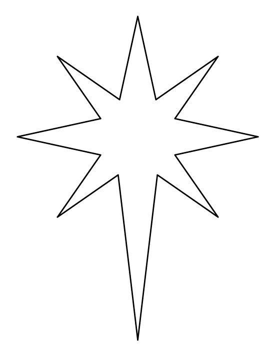 Bethlehem at night black and white clipart svg free library Star of bethlehem clipart black and white 5 » Clipart Portal svg free library