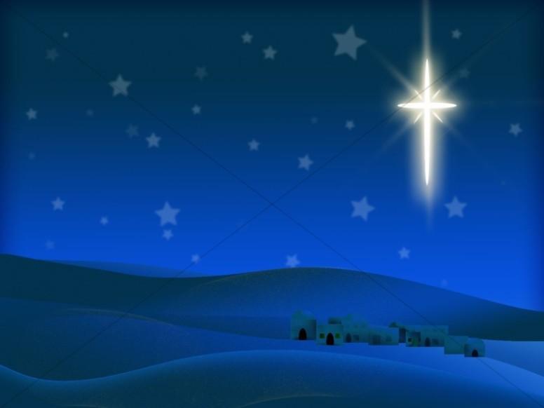 Bethlehem background clipart image royalty free download Nighttime in Bethlehem | Worship Backgrounds image royalty free download