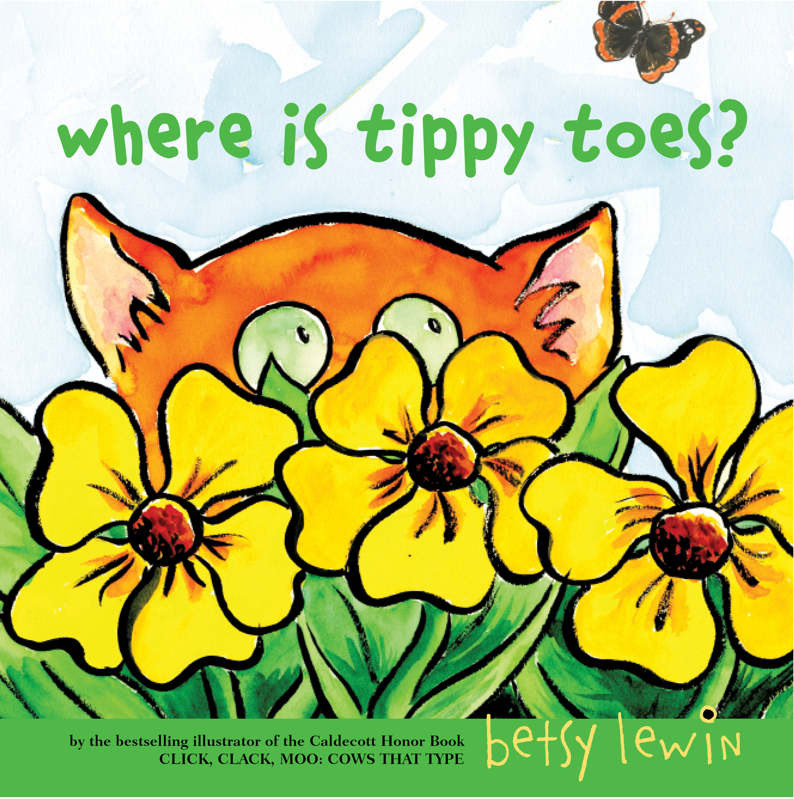 Betsy lewin clipart clip art transparent Where Is Tippy Toes?   Book by Betsy Lewin   Official Publisher Page ... clip art transparent