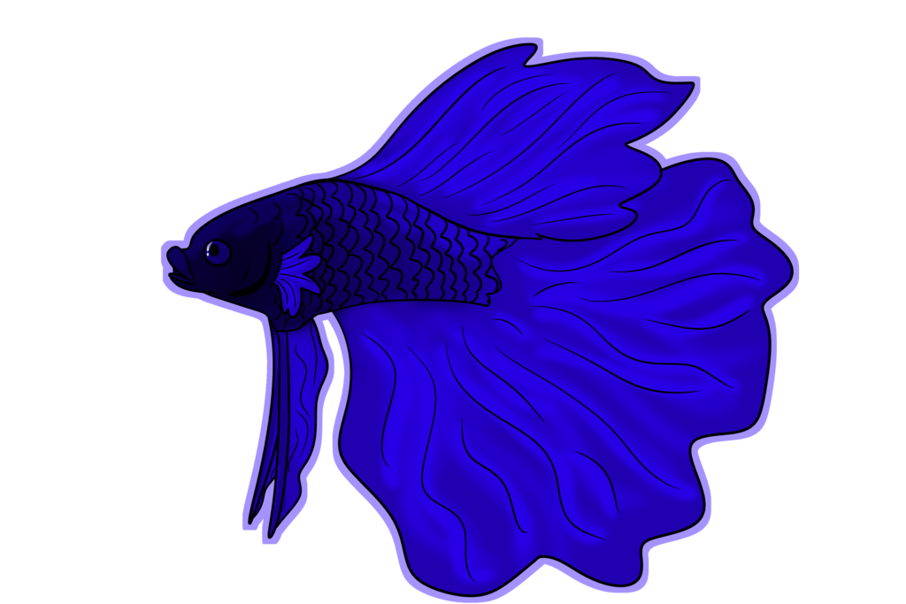 Betta fish in a bowl clipart graphic transparent stock Betta Fish by bearhugbooyah on DeviantArt graphic transparent stock