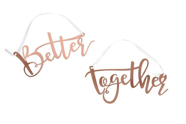 Better together words banner clipart black and white download Banners Streamers & Backdrops | Jamboree black and white download