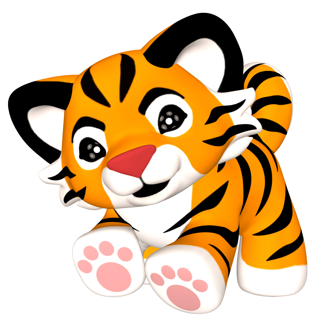 Tiger with basketball clipart free picture royalty free stock free tiger paws clip art | Clip Art Tiger Paw Clipart For Free ... picture royalty free stock
