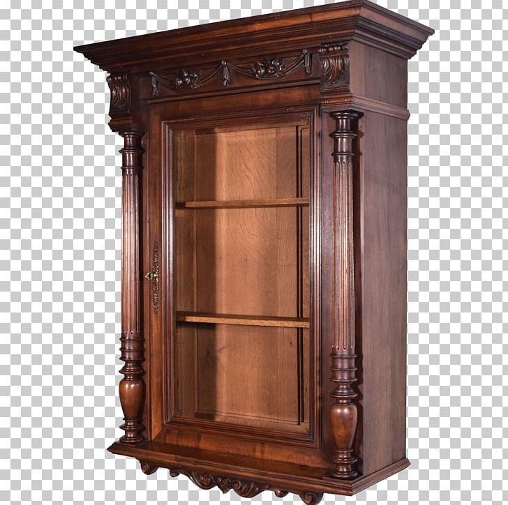 Beveled wooden cabinet door clipart