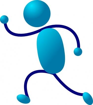 Bewegung und sport clipart. Clipartfest man clip art