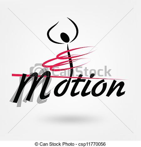 Vektor von logo csp. Bewegung und sport clipart