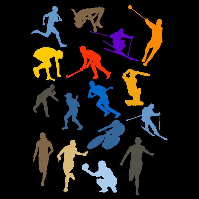 Bewegung und sport clipart. Clipartfest neue
