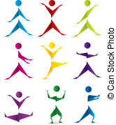 Motion illustrations and royalty. Bewegung und sport clipart