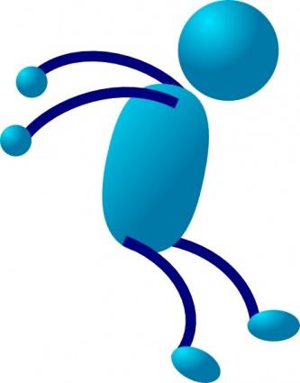 Clipartfest stick man clip. Bewegung und sport clipart
