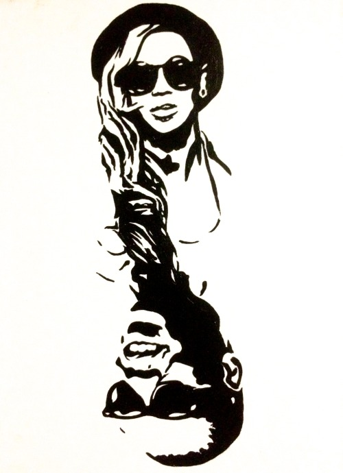 Beyonce black and white clipart jpg download art beyonce artist jay z jay-z hypebeast artists on tumblr ... jpg download
