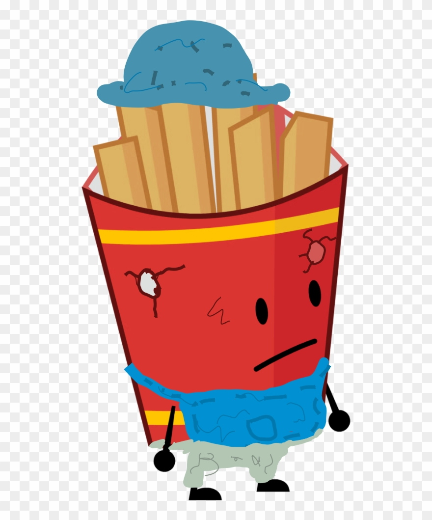 Bfdi assets clipart banner library Scarecrow Fries 0 - Bfdi Assets Bodies Bfb Clipart (#1392687 ... banner library