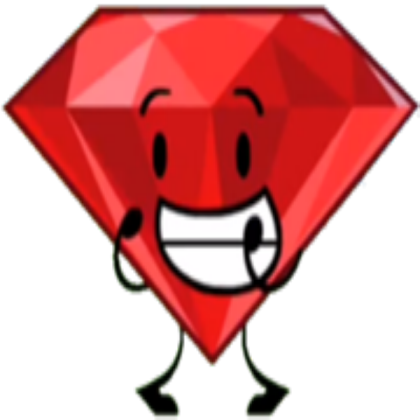 Bfdi ruby clipart clipart transparent library Ruby BFDI - Roblox clipart transparent library