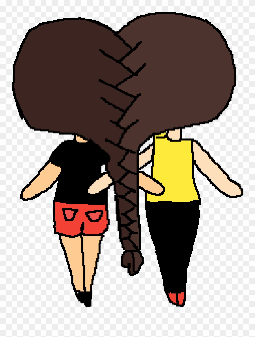 Bff clipart images vector free This Is Me And My Friend Kennedy She Its My Bff - 2 Bffs Clipart ... vector free