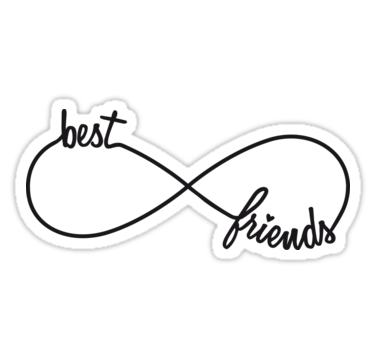 Bff forever script black and white clipart graphic freeuse Best friends forever | Sticker | Tattoo ideas in 2019 | Best friend ... graphic freeuse
