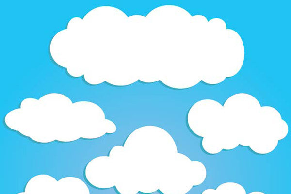 Bg clouds clipart svg black and white download Free Cartoon Clouds, Download Free Clip Art, Free Clip Art on ... svg black and white download