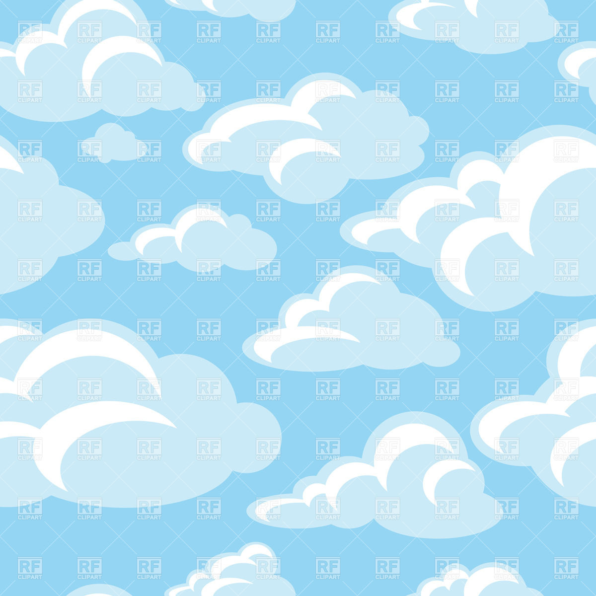 Bg clouds clipart svg black and white library Cloud Background Clipart (101+ images in Collection) Page 1 svg black and white library