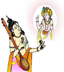 Bhakti clipart png royalty free Narad Bhakti png royalty free