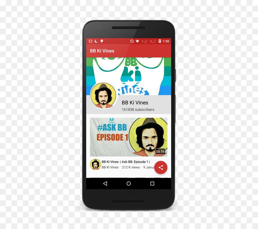 Bhuvan bam clipart vector download Phone Cartoon png download - 466*800 - Free Transparent Feature ... vector download