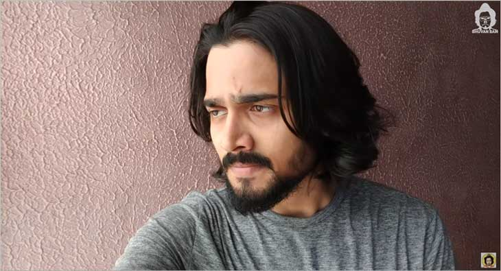 Bhuvan bam clipart svg stock Bhuvan Bam comes up with video \'The Brighter Side\' for students ... svg stock