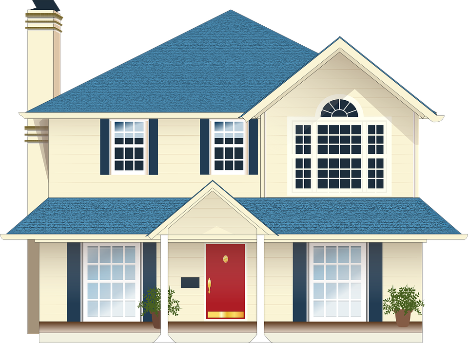 House with fence clipart vector library Free House Images Group (65+) vector library