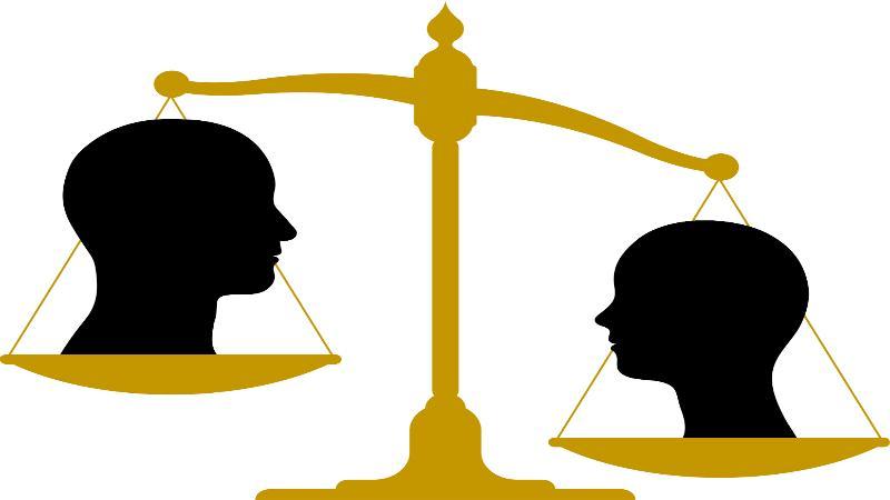 Unconscious bias clipart