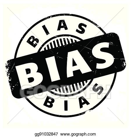 Bias clipart picture black and white download Vector Art - Bias rubber stamp. EPS clipart gg91032847 - GoGraph picture black and white download